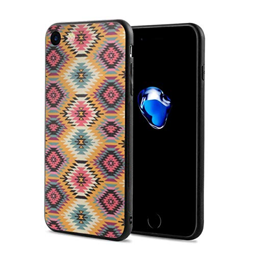iPhone 7 Case/iPhone 8 Case, Navajo Dreams Yellow Slim-Fit Ultra-Thin Shockproof Skid Proof Anti Fingerprint Lightweight Protective Case Compatible for iPhone 7/8 ()