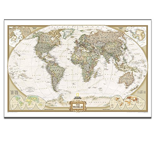 Canvas wall art world mapscan the globe at hometravel around the canvas wall art world mapscan the globe at hometravel around the world with maprich lifecanvas artframed and stretched ready to hang on24x36inches gumiabroncs Image collections