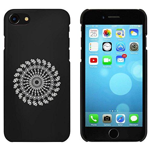 Noir 'Mandala Floral' étui / housse pour iPhone 7 (MC00075895)