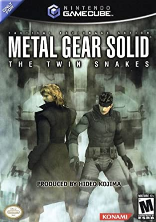Amazon Com Metal Gear Solid The Twin Snakes Unknown Video Games
