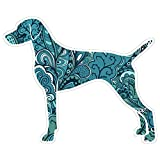 Vizsla Dog Premium Car Bumper Laptop Window Decal Sticker
