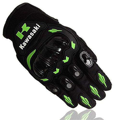 Hot Sale Motorcycle gloves Luva Motoqueiro Guantes Moto Motocicleta Luvas de moto Cycling Motocross gloves Gants (M, GREEN)