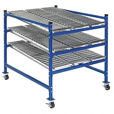 - Mobile Gravity Rack, 36inW, 48inD, 54inH