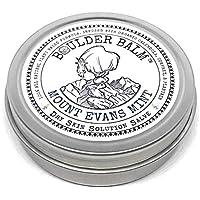Boulder Balm: Rock Climbing Dry Skin Solution Salve (Mount Evans Mint Scent) NEW 2oz Tin