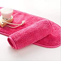Water cleansing pink makeup remover towel