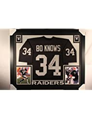 Bo Jackson Autographed Signed Custom Raiders Jersey CUSTOM FRAMED RARE BO  KNOWS NAME PLATE GTSM Personal ... d60d7672c