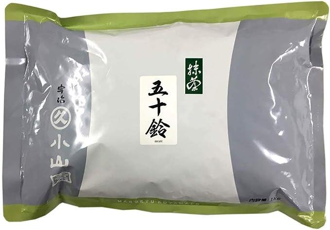 業務用抹茶/お薄茶に五十鈴(いすず)1Kg袋入り:丸久小山園の抹茶
