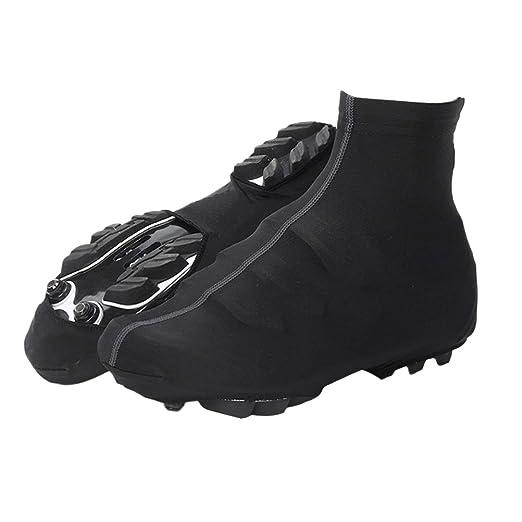 VORCOOL Cubre Zapatos de Ciclismo Ciclismo Impermeable Botín Cubrebotas Protector de Zapato de Bicicleta térmico para Invierno Cubre Calzado Deportivo al ...