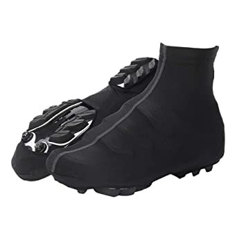 VORCOOL Ciclismo Cubre Zapatos Ciclismo Impermeable Zapatilla Cubre Zapatillas Protectoras de Invierno térmica Zapata para Deportes al Aire Libre Cubierta ...