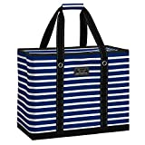 SCOUT 3 GIRLS BAG, Extra Large Utility Tote Bag with Max-Capacity Zipper (Multiple Patterns Available)