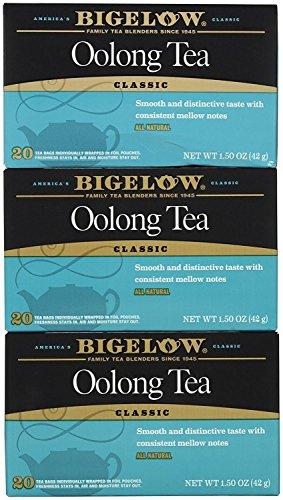 Bigelow Tea Oolong, 20 Bags (3 Pack)