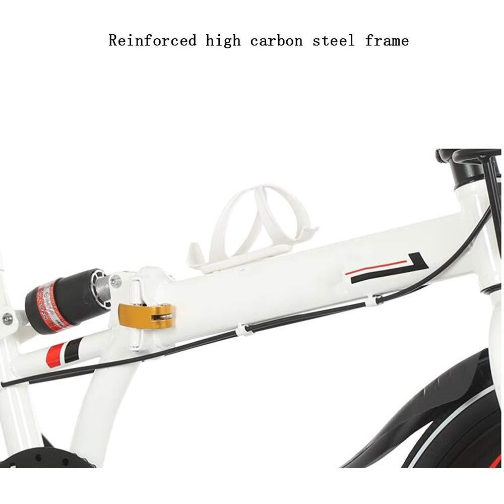 Axdwfd 子ども用自転車 キッズバイク子供用自転車16/20インチ男の子と女の子のサイクリング、616歳の折りたたみ式自転車、黄色、赤、黒、白 16in single speed イエロー いえろ゜ B07PB2Y3ZX