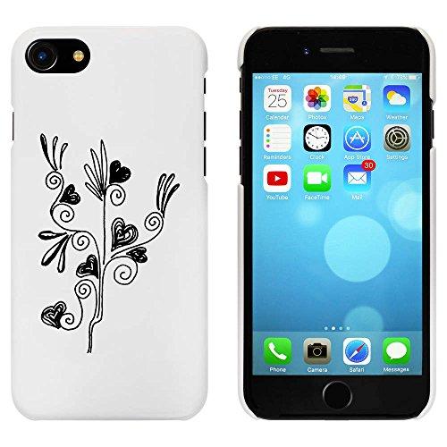 Blanc 'Fleur du Coeur' étui / housse pour iPhone 7 (MC00063340)