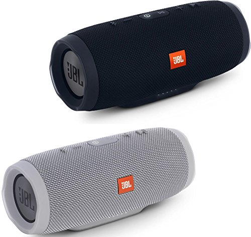jbl-charge-3-waterproof-portable-bluetooth-speaker-pair-black-gray