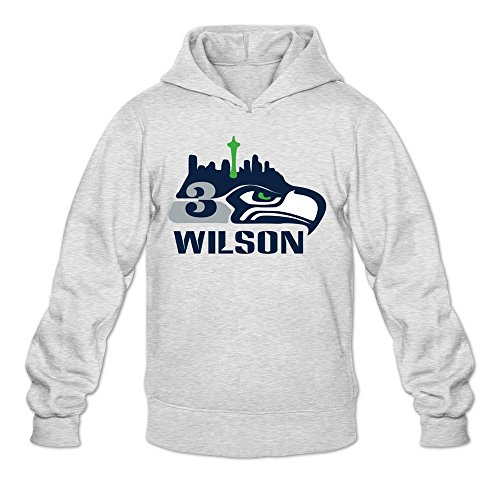 Men's 3 Russell Wilson Go Seahawks Hoodies