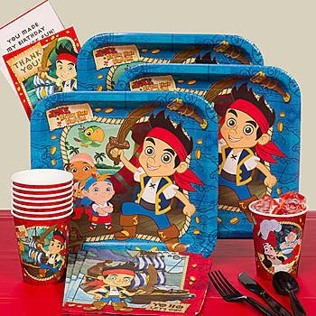 Jake and the Neverland Pirates Party Pack