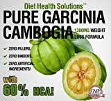 Pure Garcinia Cambogia ~ 1300mg Per Serving with 60% HCA ~ 120 capsules ~ One Month Supply ~ Double Strength, Health Care Stuffs