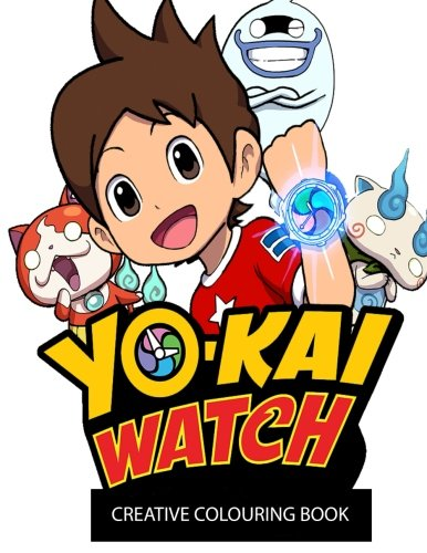 Price comparison product image Yo-Kai Watch Creative Colouring Book: DS, Creative, Kids, Children, Manga, Anime, colouring, Thanksgiving, Activity, Book, Nintendo Ds, Game, Games, Fun