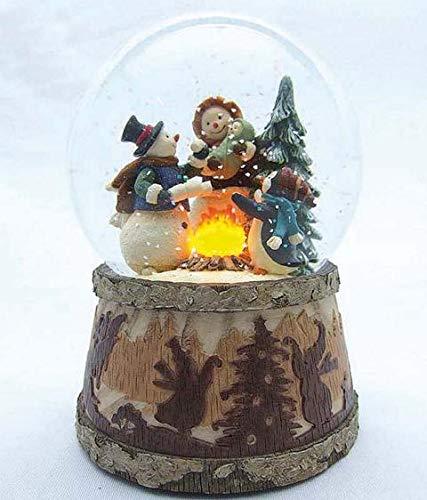 MMM GmbH, Spieluhrenwelt, 857789 Spieluhr Schneekugel  Schneemann Familie Familie Familie , das ideale Geschenk zum Geburtstag, Namenstag oder zwischendurch als Mitbringsel, šberaschung, Aufmerksamkeit, Weihnachtsgeschenk, Dankesch n und Gruss B07G45X1FV Spieluhre 77e344
