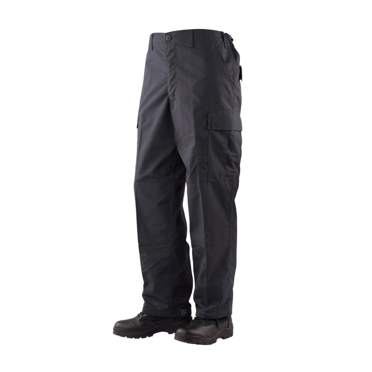 Tru-Spec TSP-1995044 Gen-1 Police Battle Dress Uniform Pants, Black - Short - Medium