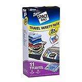 ziploc space travel bags - Ziploc Space Bag Travel Bags Variety Pack - Set of 11 Bags