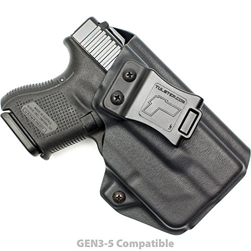 Tulster Glock 26/27/28/33 w/TLR-6 Holster IWB Profile Holster (Black - Right Hand)