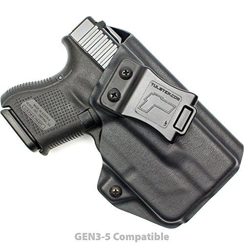 Tulster Glock 26/27/28/33 w/TLR-6 Holster IWB Profile Holster (Black - Right Hand) (Best Kydex Iwb Holster For Glock 26)