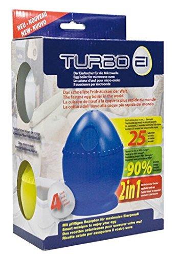 Turbo EI el Hervidor de huevos para microondas, Juego de 4 en los ...