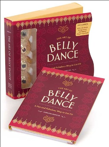 The Art of Belly Dancing Kit (DVD, CD, Log, Belly Jewel, Finger Cymbals)