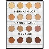 Kryolan 71006 Dermacolor Camouflage Mini palette, 16 Colors. 3 Color Variations (MEDIUM, Nr. 1, Nr. 2) (Nr. 1)