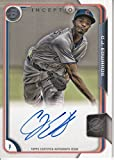Bowman Inception - CARL EDWARDS JR - Autograph AUTO Game Used GU Jersey - World Series Champions - BUY IT NOW or MAKE OFFER