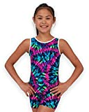 Pelle Gymnastics Biketard/Unitard - Purple Tie-Dye - C Medium