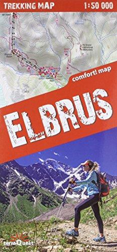 Elbrus 1: 50.000 plastificado (trekking map) por VV.AA.