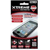 Xtreme55251 Indestructible Screen Protector for iPhone 4/4S - 1 Pack - Retail Packaging - Clear