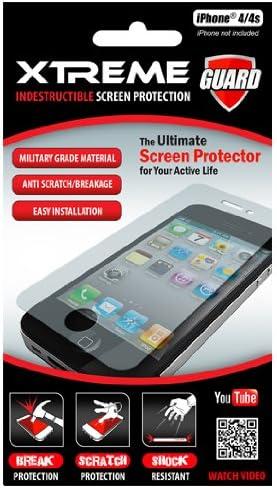Xtreme Cables xtreme55251 Indestructible Protector de Pantalla para iPhone 4/4S – 1 Pack – empaquetado al por Menor – Claro: Amazon.es: Electrónica