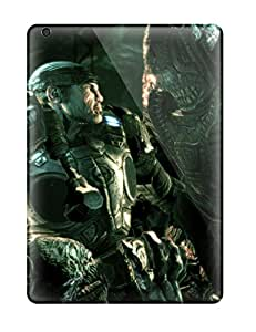 First-class Case Cover For Ipad Air Dual Protection Cover Video Game Gears Of War