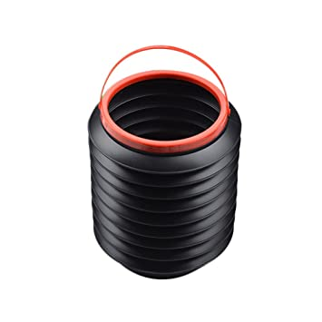 4l car folding retractable bucket outdoor portable collapsible plastic container car water
