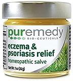 #5: Puremedy Eczema and Psoriasis Relief Homeopathic Salve (1oz)
