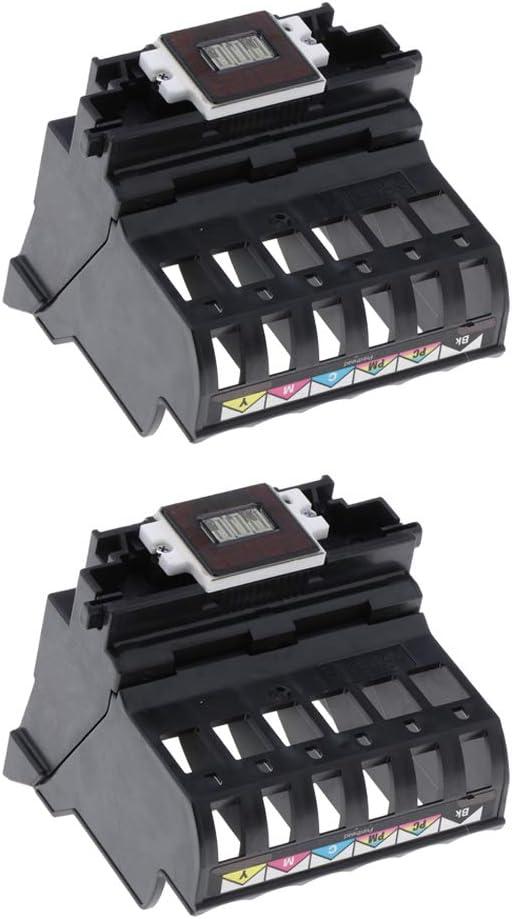 Homyl 2xPrinter Head Replacement Printhead for Canon S820,S830 BJF890 Printer