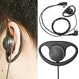 Saver 2Pin D Shape PTT Earpiece Headset with Boom Mic for Motorola Radio Walkie Talkie
