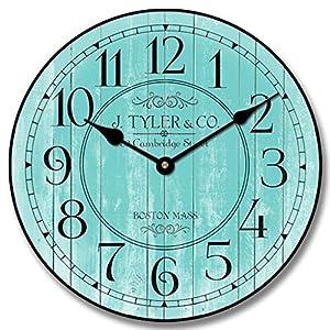 51RuVi-WyUL._SS300_ Coastal Wall Clocks & Beach Wall Clocks