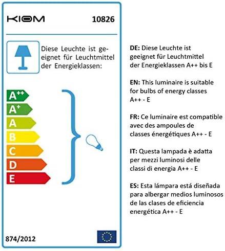 52,5 cm 10826 Tischleuchte Vida Table f/ür Au/ßen /& Innen IP65 H