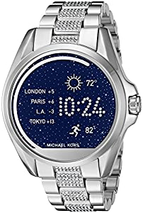 Michael Kors MKT5000 Digital Bradshaw Silver-Tone Access Touch Screen Smartwatch