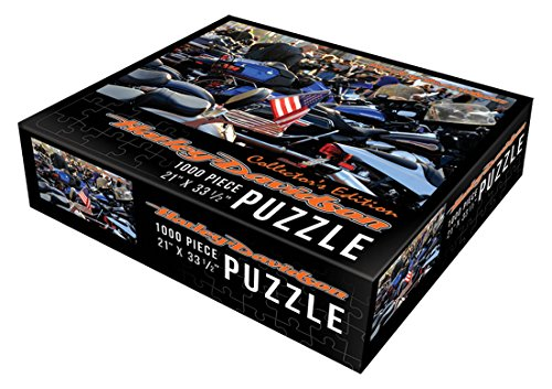 Harley-Davidson American Flag Classic Puzzle (1000 Pieces)