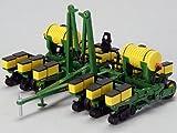 1984 John Deere 7200 12 Row Maxemerge Planter With Fertilizer Tanks 1/64 by Speccast JDM251