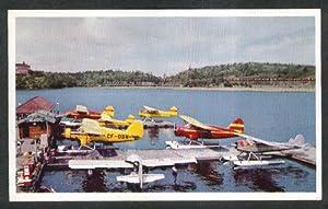 Ontario Central Seabee Kenora Ontario Canada postcard 1950s