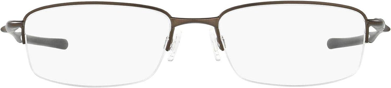Oakley Men's Ox3102 Clubface Metal Rectangular Prescription Eyewear Frames