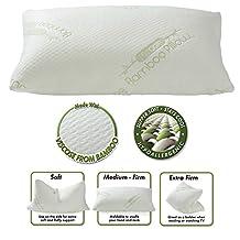 Miracle Bamboo Original Shredded Memory Foam Pillow - Queen