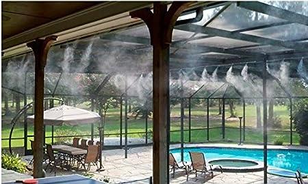 ExclusivoCIR Difusor de Agua para terraza o jardín con Manguera de 10 Metros: Amazon.es: Hogar