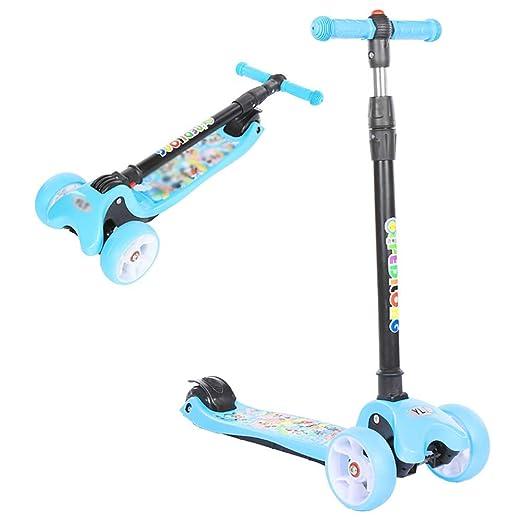ZLL Niños plegables Scooter-Scooter Kick Fold Foldable con ...